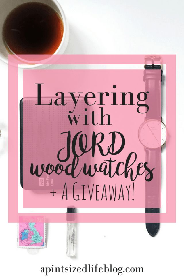 JORD wood watches Pinterest graphic