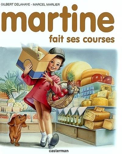 Couverture : Martine fait ses courses