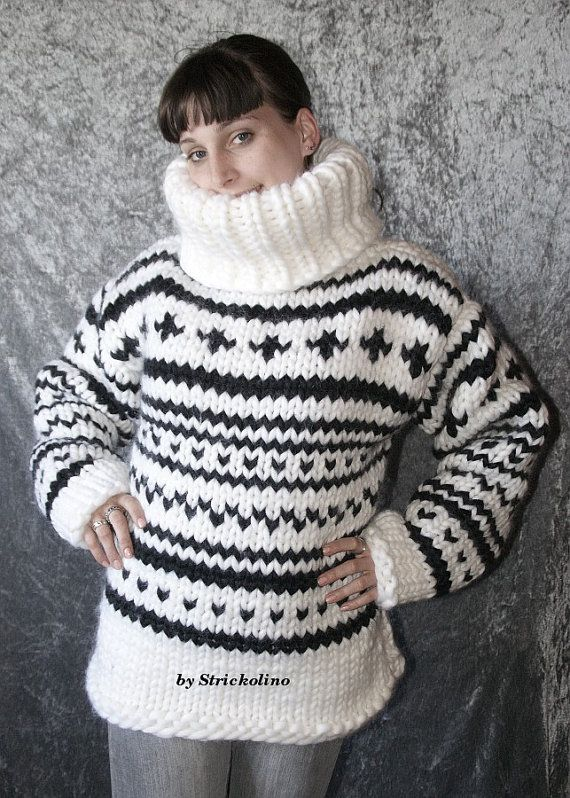 To order  3kg chunky norwegian turtleneck sweater by Strickolino