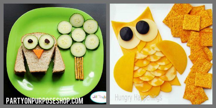 Owl Party Ideas: food