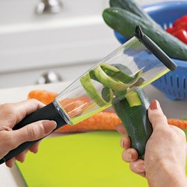 Veggie Peel - Your sink and counter stay clean because it contains