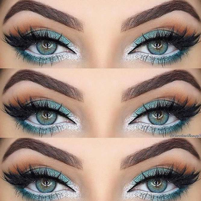 Trendy Ideas of Eye Makeup for Blue Eyes ★ See more: https://makeupjournal.com/eye-makeup-for-blue-eyes/