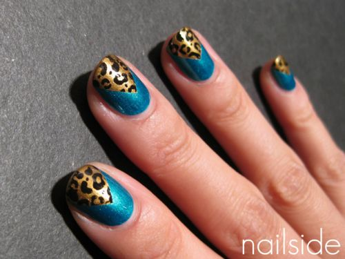 Leopard chevrons from Nailside