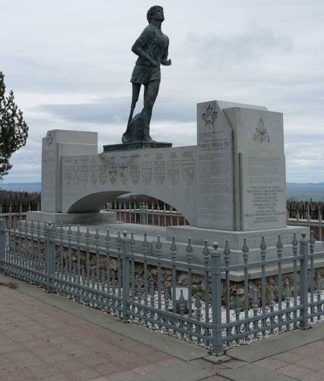 Terry Fox Monument Thunder Bay Ontario