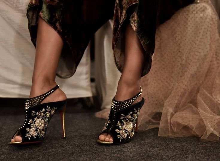 Christian Louboutin styles for Sabyasachi Mukherjee's #FW16 couture collection | Buy ➜ https://shoespost.com/christian-louboutin-styles-sabyasachi-mukherjees-fw16-couture-collection/