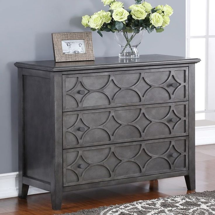 Lucia Dark Accent Chest | Weekends Only Furniture and Mattress
