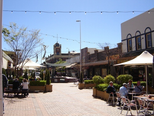 Armidale, NSW - The Mall - Multiple years travelling here for the TAS Rugby Carnival. A beautiful place.