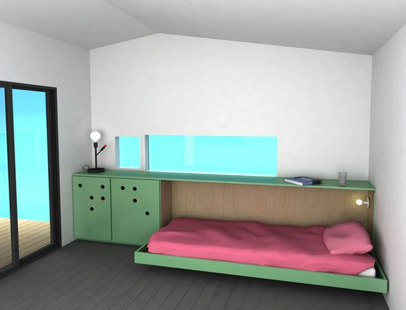 17 best ideas about beds for small spaces on pinterest for Murphy beds for small spaces