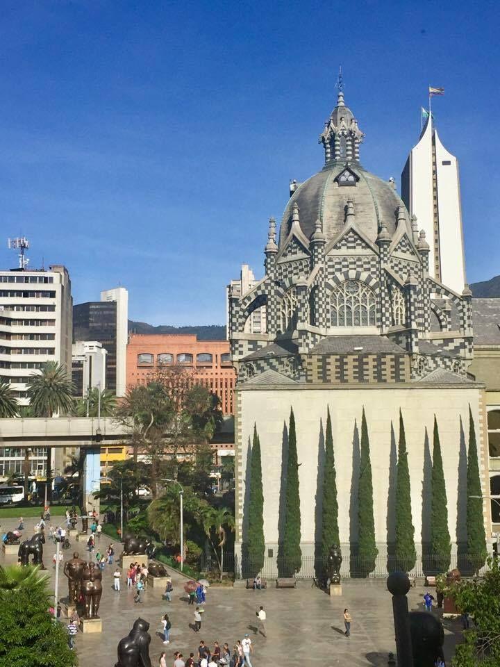 Botero Plaza in Medellin, Colombia