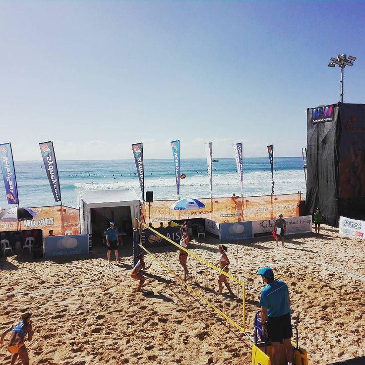 What a great day today @Volleyfest!! #Australia  #beachvolleyball #beachvolley #volley #beach #new #visits #destinationnsw #volleyfest17 #volleyfest