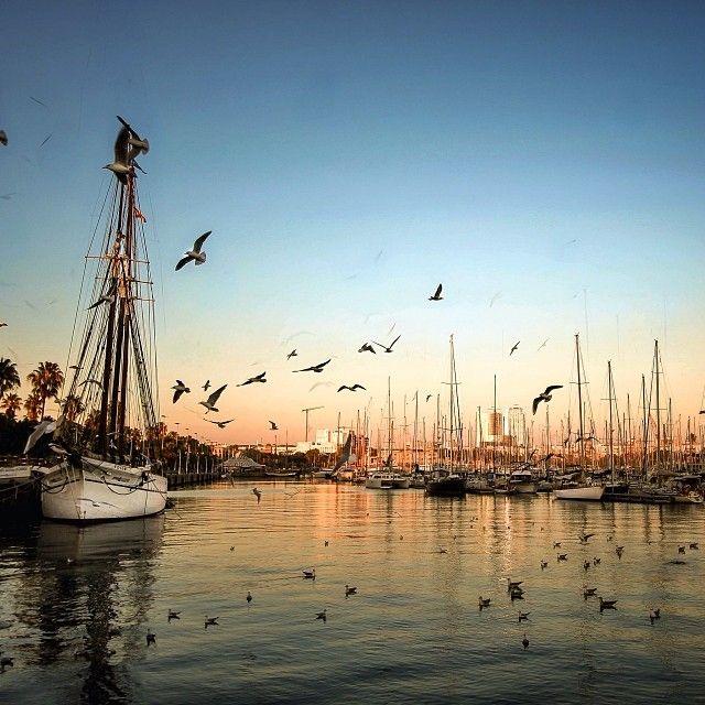 Port Vell, Barcelona (Spain)