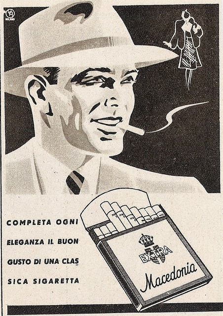 sigarette Macedonia by VINTAGE AD, via Flickr