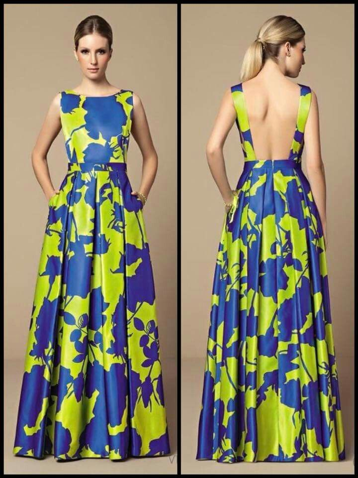 Long dress, will cover the back!