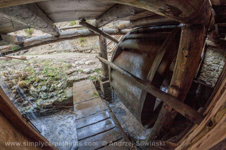 Old sawmill.  www.simplycarpathians.com