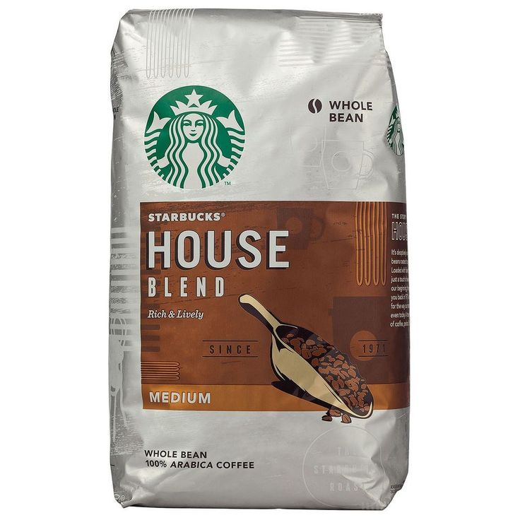 Starbucks House Blend Whole Bean Coffee (40 oz.)