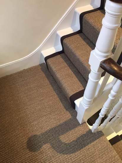 Client: Private Residence In West London Brief: To Supply U0026 Install Sisal  Carpet To