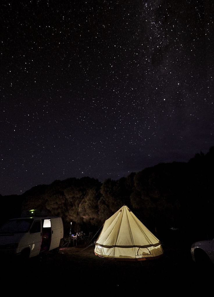 Camping at Johanna Beach with our new amazing Home Camp Flinders Bell Tent.