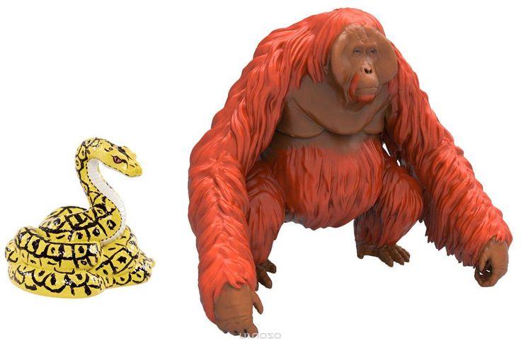 Jungle Book Набор фигурок Король Луи и Каа