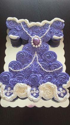 Sofia cupcake dress