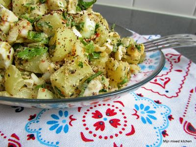 Turkse aardappelsalade