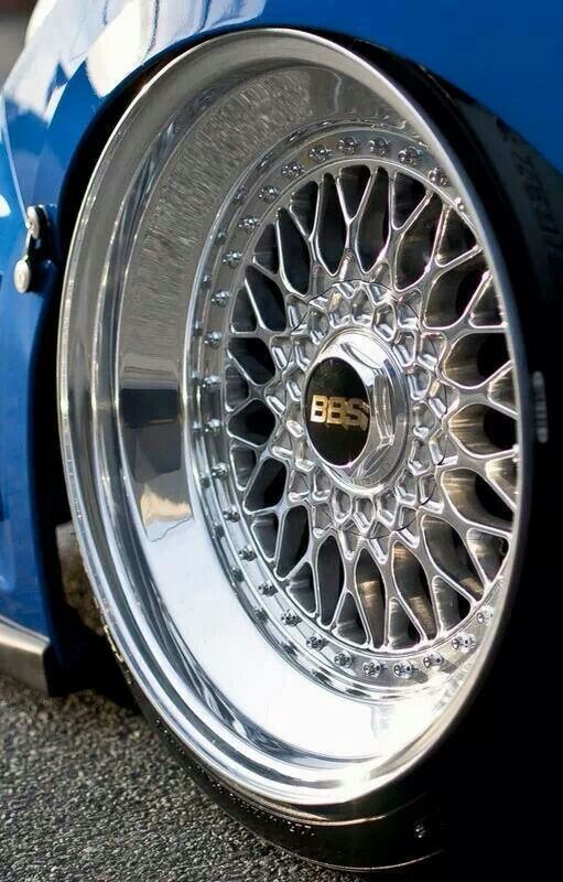 Put some bbs wheels on your car, that will be great ;)