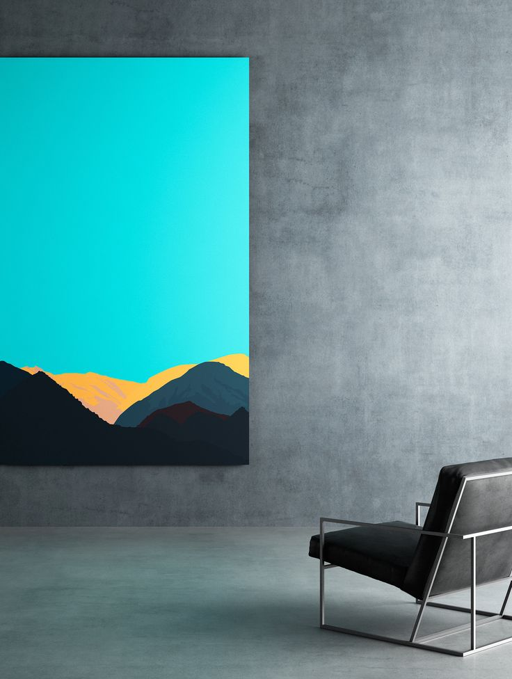 Epònimo catalogue by Linee Studio. Gotham armchair and illustration by Filippo Carandini in minimalist concrete space.