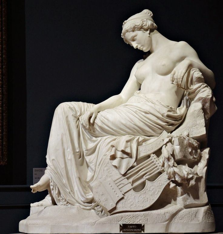 Sappho. Giovanni Dupré (1817-1881)