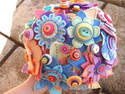 The Sensible Bride: bouquet alternatives