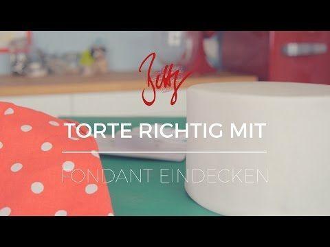 Richtig backen mit Fondantbeschichtung Bettys Zuckerträume – YouTube – Backen – # …