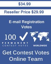 Buy 100 Email Registration Votes at $29.99 Votes from different USA IP Address Bulk Votes Available. Different Country IP address available. www.getcontestvot... #buyonlinevotes #buycontestvotes #buyfacebookvotes #getonlinevotes #getcontestvotes #buyvotesforonlinecontest #buyipvotes #getbulkvotes