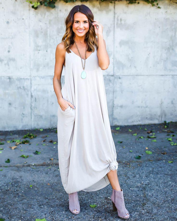 Olivian Maxi Dress #coniefox