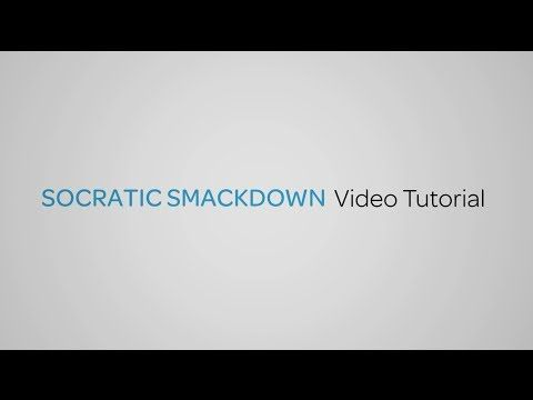 Free Technology for Teachers: Socratic Smackdown - A Game for Learning and Practicing Discussion Strategies