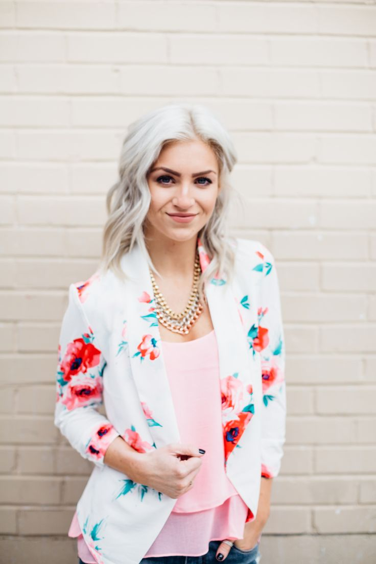 Obsessions Boutique - White Floral Blazer, $39.99 (http://www.youreveryobsession.com/products/white-floral-blazer.html)