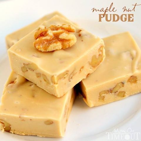 Love making fudge ? then why not try making this maple nut fudge .. it looks so deliciously good that I just had to share this recipe on to you...