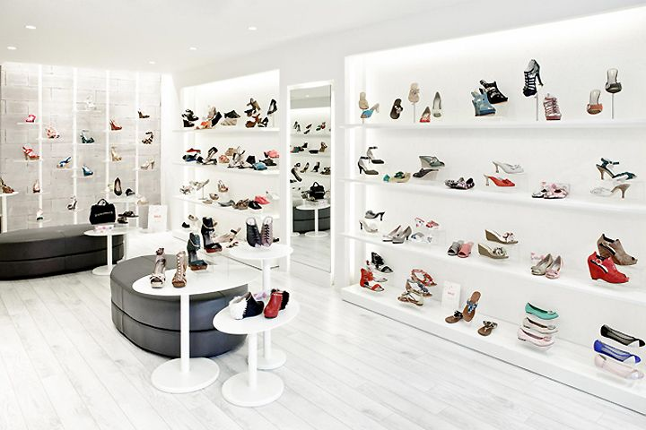 Retail Design | Footware | Store Design | Shop Interiors | PREVIEW shoe store by in between Design Office, Hong Kong