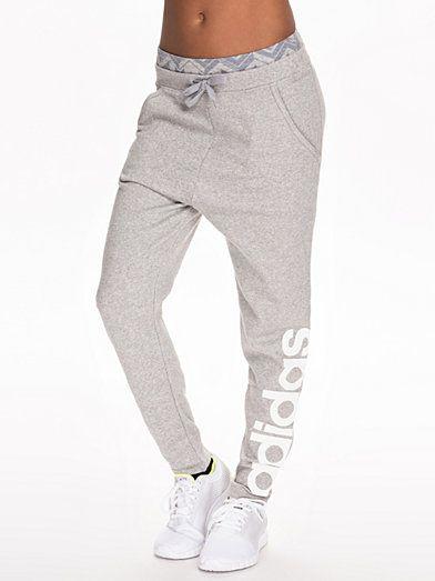 Rl Locr Lg Pants - Adidas Performance - Grå - Byxor - Sportkläder - Kvinna - Nelly.com