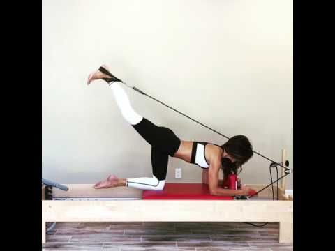 Gluteal Workout on the Pilates Reformer - YouTube