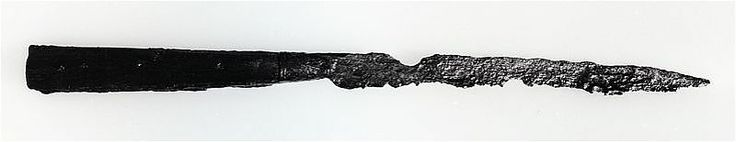 Medieval, Uppsala. Knife with wooden handle. 190 mm