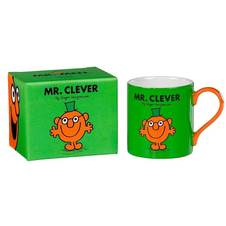 Mr Clever Mug From Wild and Wolf  #gift #cool #sale #cheap #presents #mzube #birthday #gifts #quirky #shopping   https://www.mzube.co.uk