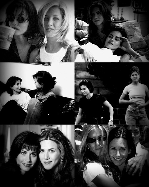 """""""She's truly my friend. I love that girl more than anything."""" - Courteney Cox on Jennifer Aniston."""