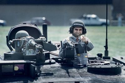 "The now famous photo op was such a disaster that the Dukakis tank picture was used in television ads for George H.W. Bush's campaign, as evidence that Dukakis would not make a very convincing commander-in-chief. ""Dukakis in the tank"" is still used to describe a backfired public relations campaign."