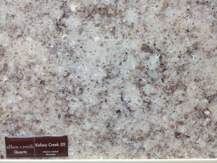 Quartz Countertop   Allen U0026 Roth Kelsey Creek   Loweu0027s
