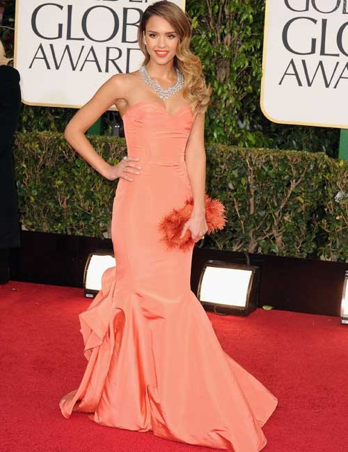 The 15 Best Bodies of the Golden Globes: Jessica Alba