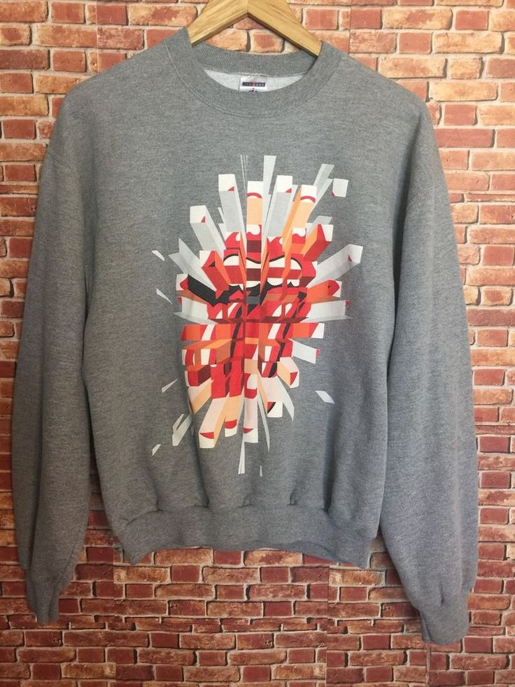 The Rolling Stones A Bigger Bang 2006 Concert Tour Rock Album Sweatshirt Medium #TheRollingStonesABiggerBang #GraphicTee