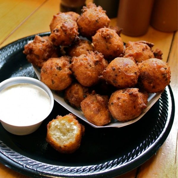 Jalapeno Hush Puppies - Fat Tuesday Recipes (scroll 1/3 way down the page)