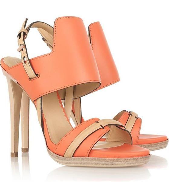 Обувь персикового цвета