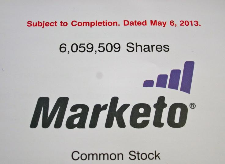 Marketo Prospectus, IPO, Kingdom Ridge Capital, KRC, MKTO