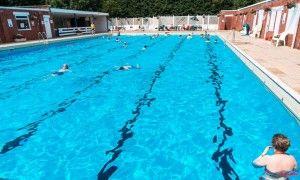 Nantwich Outdoor Brine Pool - heated outdoor pool