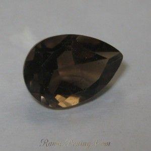 Pear Shape Smokey Quartz 2.30 carat