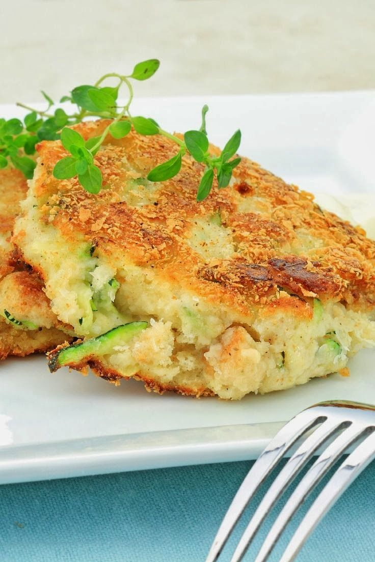 Zucchini Crab Cakes Low Carb